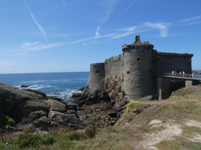 Le Vieux Chateau, Ile d'Yeu, Vendee, France