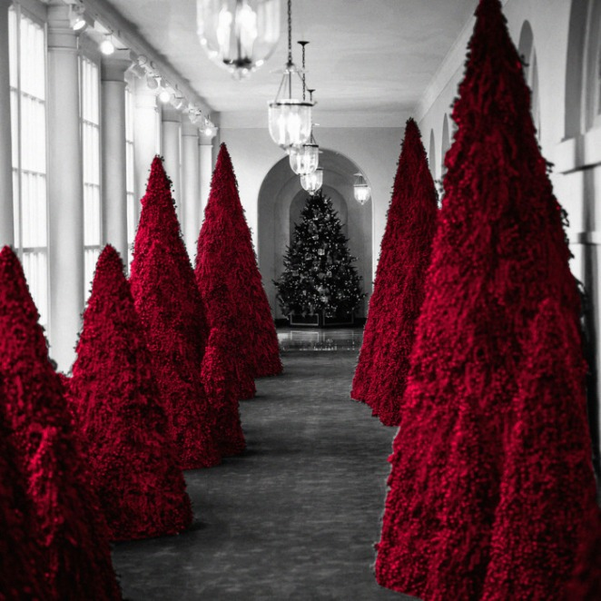 Have yourself a very Melania Christmas.